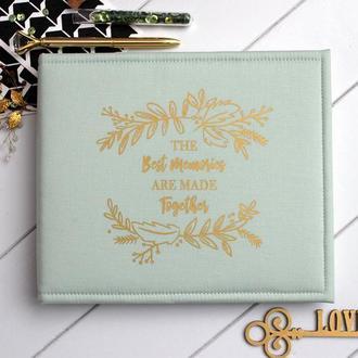 Сімейний альбом, Свадебный альбом, Лавстори альбом, Подарунок дівчині, Перша річниця весілля