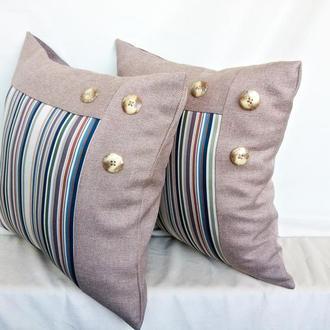 Подушки декоративные,интерьерные,комплект 2 шт.