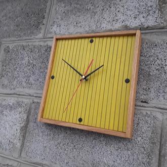 Часы настенные в современном дизайне, настенные часы, уникальные настенные часы, деревянные часы