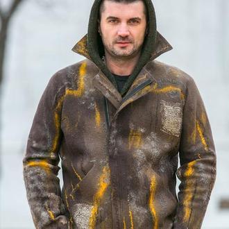 Мужская куртка из шерсти мериноса