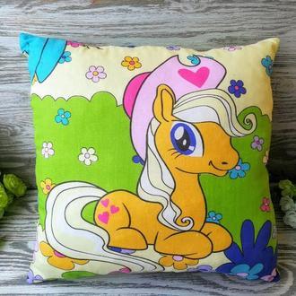 Подушка Мой маленький пони Эпплджек, 35 см * 35 см