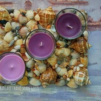 Подсвечник с набором свечей