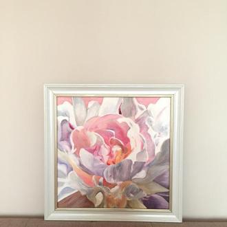Картина маслом Цветок Пион