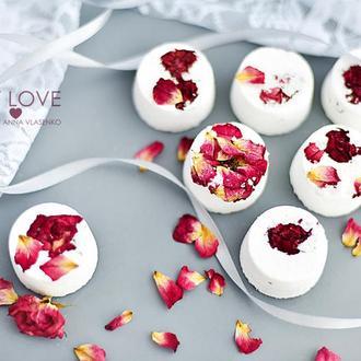 Бомбочки для ванной Ароматная роза