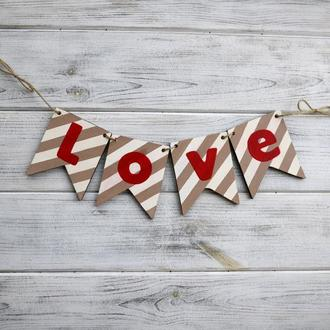"Гирлянда ""Love"""