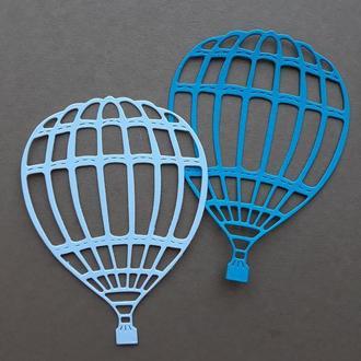 Бумажная вырубка Воздушный шар, Фигурная вырубка