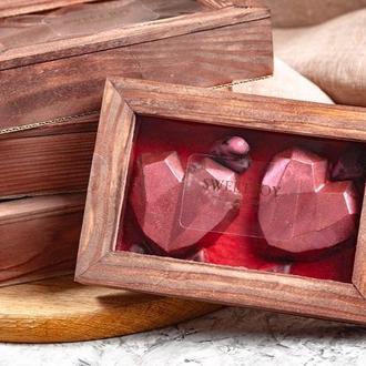 Шоколад в форме сердца
