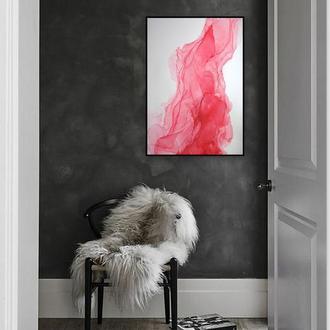 """""""Пламя"""" Интерьерная картина в абстрактном стиле"""