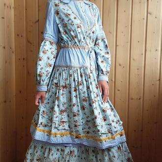 """Платье в славянском стиле """"Моя деревенька"""""""