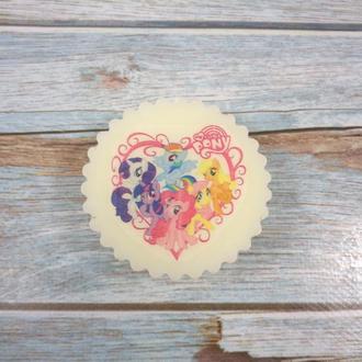 """Мыло с картинкой """"My little pony"""" вариант 2"""