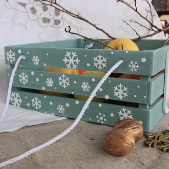 Ящик для солодощів з ручками