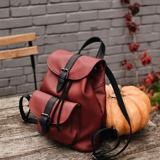 Разноцветный рюкзак, женский рюкзак, рюкзак хендмейд, городской рюкзак