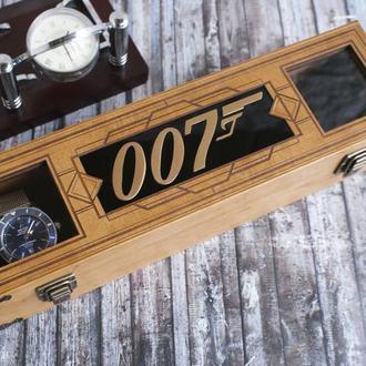 "Футляр для часов ""Agent 007"""