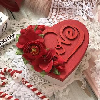 100 причин чому я тебе кохаю червона