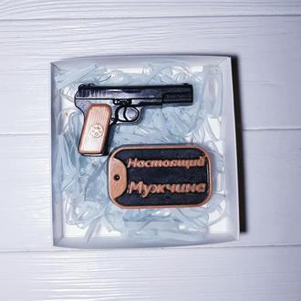 Набор мыла Пистолет