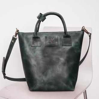 Сумка шоппер B-Bag, женская сумка из кожи, через плечо, сумка