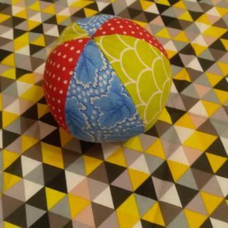 мяч текстильный развивающая игрушка