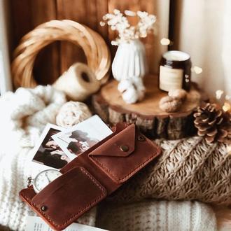 Кожаный бумажник в классическом дизайне Bifold 2.0
