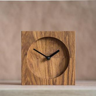 """Настольные часы из дуба """"Grant"""""""