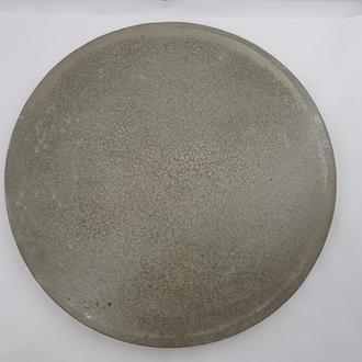 Подставка под тарелку, под горячее, сделанная вручную, стиль Loft d - 23 см, h - 0,7-1 см.