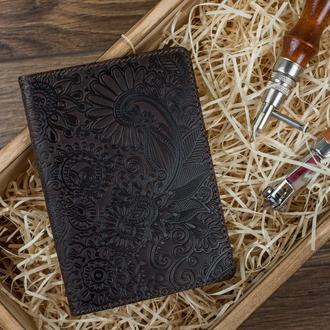 "Обложка для паспорта  HiArt PC-02 Shabby Gavana Brown ""Mehendi Art"""