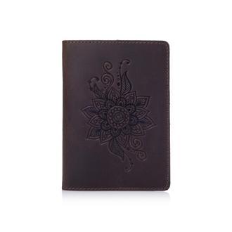 "Обложка для паспорта  HiArt PC-02 Shabby Gavana Brown ""Mehendi Classic"""