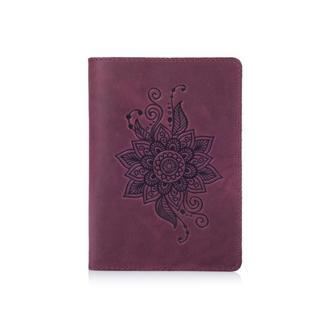 """Обложка для паспорта  HiArt PC-02  Shabby Plum """"Mehendi Classic"""""""