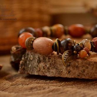 Браслет ′Теплый мед′