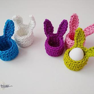 Пасхальные корзинки кролики, подставки для яиц, детские Пасхальные корзинки, Пасхальный декор