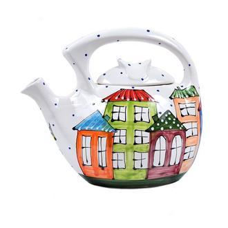 Семейный чайник-заварник Домики 1
