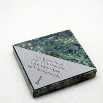 Аксессуары для гравировки (подставки из камня и металла)