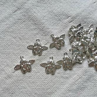 Подвеска Ангел, 20 мм. серебро 5 шт.