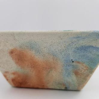 Пиала из бетона, в стиле Loft, - мультицвет