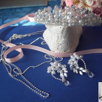 aa33cac0940b Свадебные украшения для невесты ,набор на свадьбу, украшение на  свадьбу,украшения ...