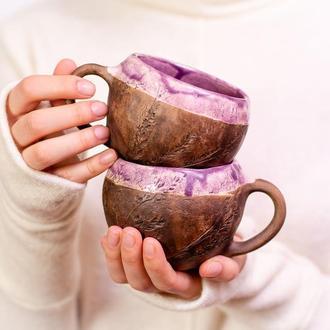 """Горня, чашка """"Flora violet"""""""