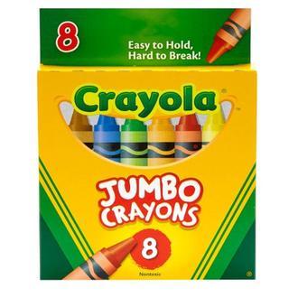 Восковые карандаши Crayola Jumbo 8 шт США