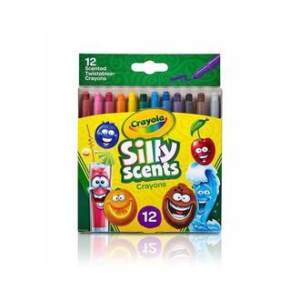 Ароматизированные восковые мелки Crayola Silly Scents, 12 шт