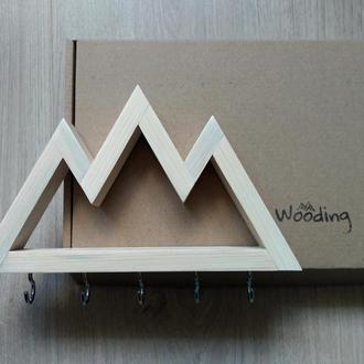 Настенная ключница Big White mountains