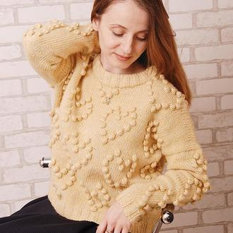 В'язаний жіночий светр