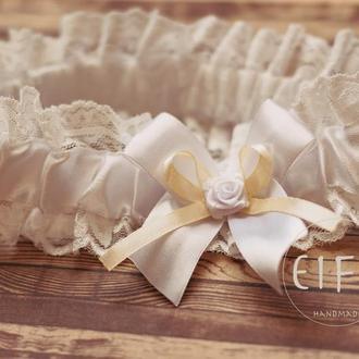 Свадебная подвязка арт. 2015