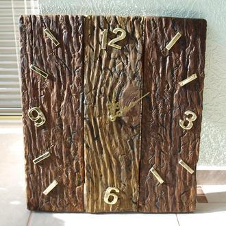Часы настенные арт. «036Д». Дерево, состаренное.