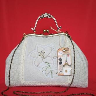 Стеганая сумочка