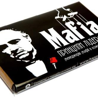 """Набір шоколадок із передбаченнями """"Мафія"""""""