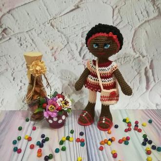 Кукла Нану, вязаная кукла