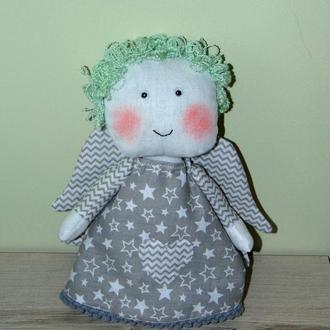 Интерьерная игрушка ангелочек Грейс