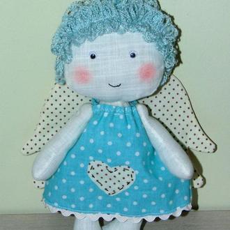 Интерьерная игрушка ангелочек Дотти