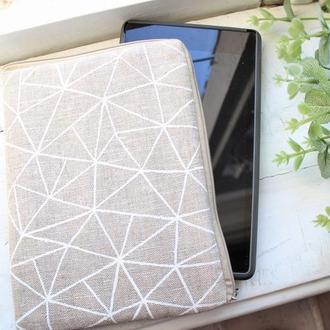 Чехол для планшета, для электронной книги с рисунком