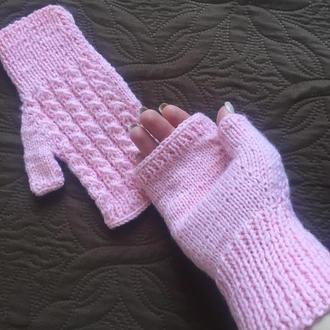 Весняні рукавички-мітенки