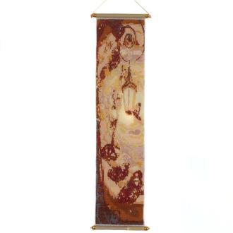Панно из бисера «Теплый свет. Бабочки.» оберег для дома