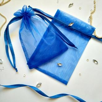 Подарочный мешочек из органзы (упаковочный мешочек, тканевая упаковка)